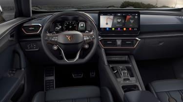 Cupra Formentor SUV interior
