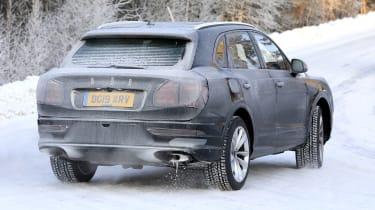 Bentley Bentayga prototype - rear