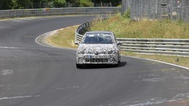Volkswagen Golf GTI spied