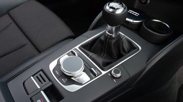 Audi A3 Sportback centre console
