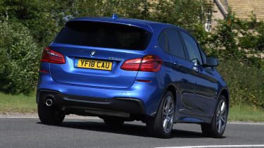 BMW 2 Series Active Tourer MPV rear cornering