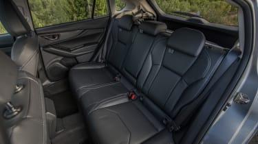 Subaru Impreza hatchback rear seats
