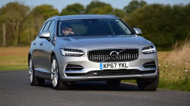 The Volvo V90 T8 Twin Engine is a plug-in hybrid executive estate with very few direct rivals
