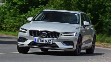 Volvo V60 estate front action