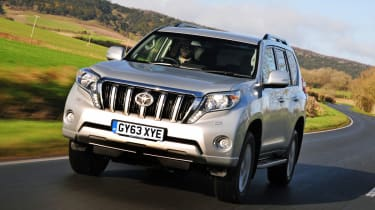 The Toyota Land Cruiser will be too big for many buyers, but it's a seriously tough and capable off roader
