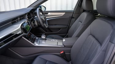 Audi A6 Allroad quattro estate front seats