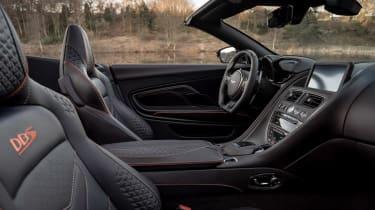 Aston Martin DBS Superleggera Volante - cabin