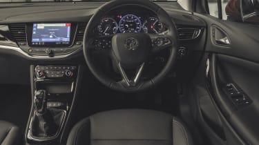 Vauxhall Astra hatchback interior