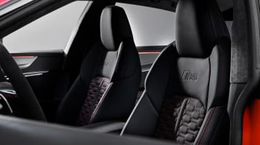 Audi RS7 seat detail