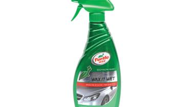 Turtle Wax car spray wax