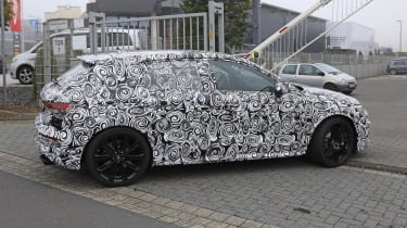 2021 Audi RS3 spotted in camouflage