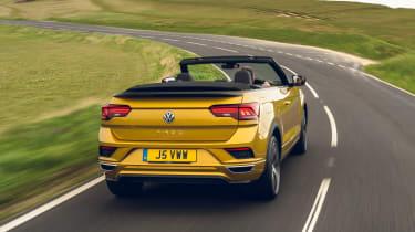 Volkswagen T-Roc Cabriolet cornering - rear view