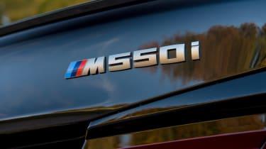BMW 5 Series saloon rear badge