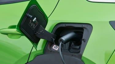 Vauxhall Mokka-e charging port