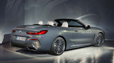 2019 BMW 8 Series Convertible rear