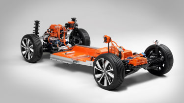 Electric Volvo XC40 platform