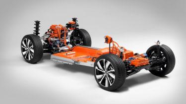 Electric Volvo XC40 platform