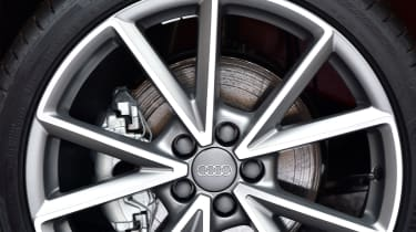 Larger alloy wheels looks good on the A1, but can hurt ride quality