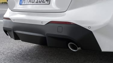 2021 BMW 2 Series Coupe M Sport - rear valence