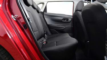 Hyundai i10 hatchback rear seats
