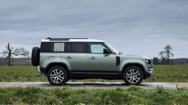 Land Rover Defender SUV side static