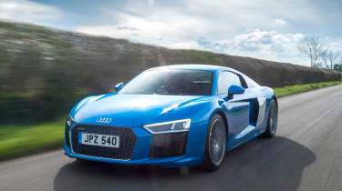 16% of readers would like to take their other halves for a skiing trip in an Audi R8