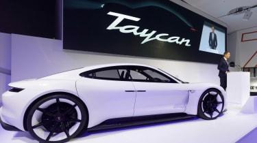 Porsche Taycan name announcement
