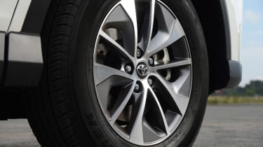 Icon and Excel models are fitted with four-wheel drive and 18-inch alloy wheels