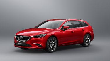 2017 Mazda6 Tourer in Soul Red Crystal