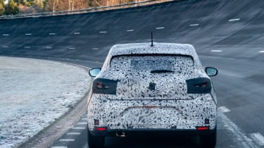 Renault Clio prototype review rear