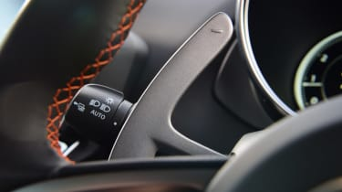 Alpine A110S gearshift paddle