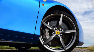 Ferrari 488 Spider convertible alloy wheel