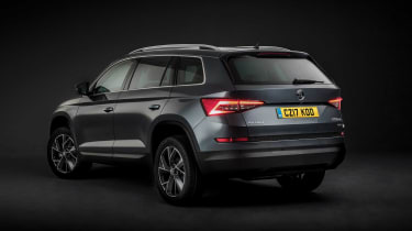 Buyers can have the Skoda Kodiaq in a choice of four different trim levels