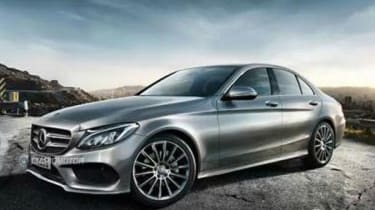 Mercedes C-Class saloon 2014 front quarter static