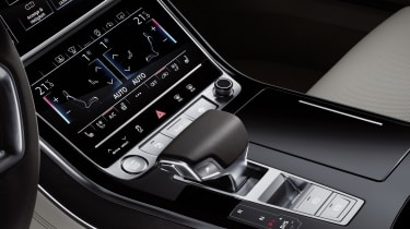 ...along with two tiers of full-colour touchscreen displays with haptic feedback