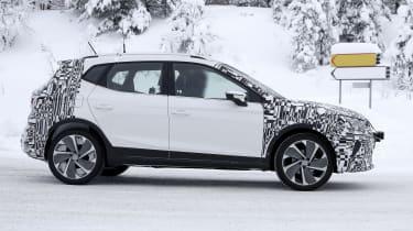 2021 SEAT Arona development model - side view