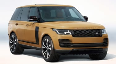 Range Rover Fifty in exclusive colour