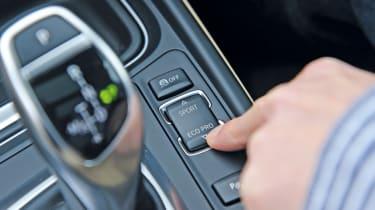 BMW 3 Series Gran Turismo eco button