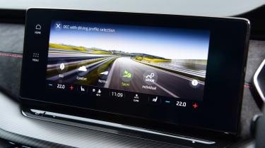 Skoda Octavia vRS hatchback drive modes