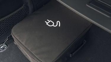 Audi Q5 55 TFSI e charging cable storage