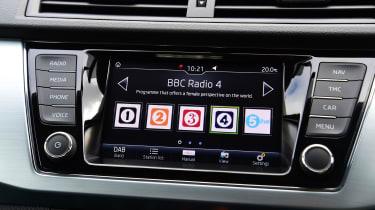 Skoda Fabia hatchback DAB radio