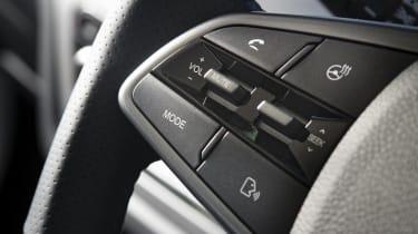 Ssangyong Korando steering wheel buttons
