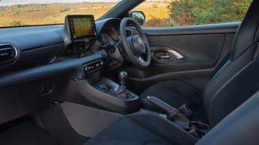 Toyota GR Yaris hatchback dashboard
