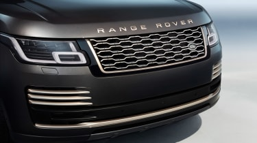 Range Rover Fifty front end
