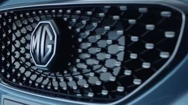 MG ZS EV grille