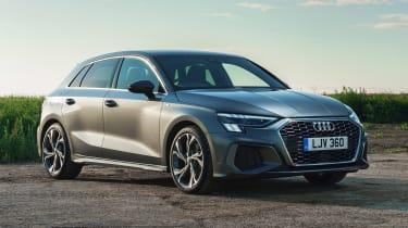 Audi A3 Sportback hatchback front 3/4 static