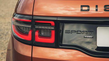 2020 Land Rover Discovery Sport Black with black badges