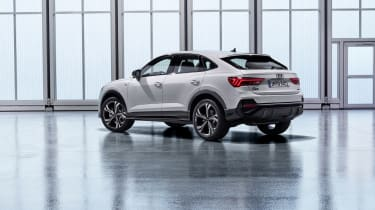 2019 Audi Q3 Sportback - rear 3/4 view static