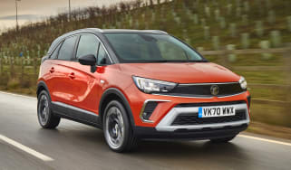 2021 Vauxhall Crossland SUV - front 3/4 driving