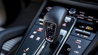 Porsche Cayenne Coupe SUV - gear lever and centre console